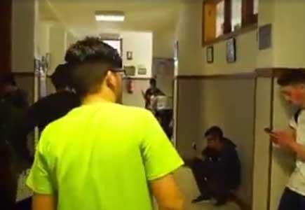 Jorge, víctima del 'bullying', protagoniza un corto contra el abuso escolar