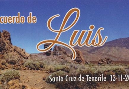 Recuerdo al Socio Luis Ramos