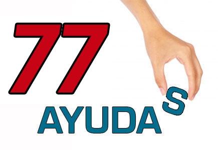 77 Ayudas de material escolar