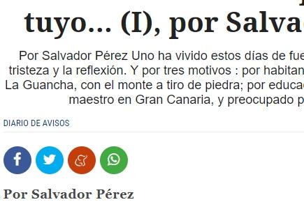 Artículos Salvador Pérez